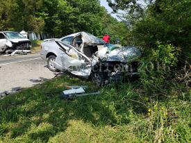 Squad 1 and Engine 10 operated on the scene of this serious motor vehicle accident on June 11, 2016.