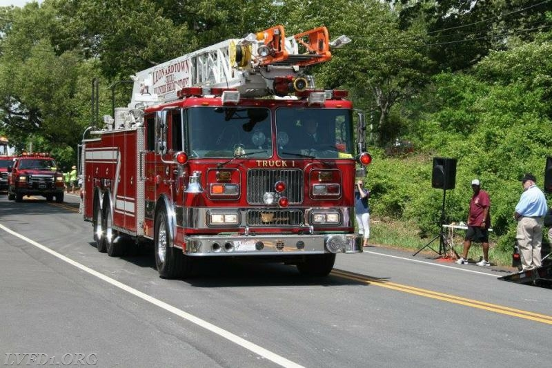 Truck 1 in the parade.